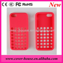 Manufacturer supply Official Silicone Case for iphone 5C