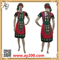 Women African Dashiki Shirt Tribal Plus Size M,L,XL,XXL, adults women dress.