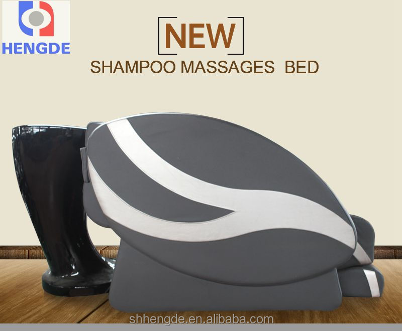 Luxury wash hair massage bed/ shampoo massage table with CE, CCC/salon furniture for body massage