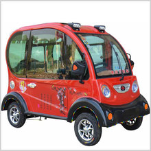 adults 4 wheel 1.15m width fully enclosed mobility scooter with roof 1000W 60V