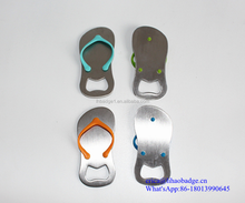 slipper shape logo print bottle opener wine opener