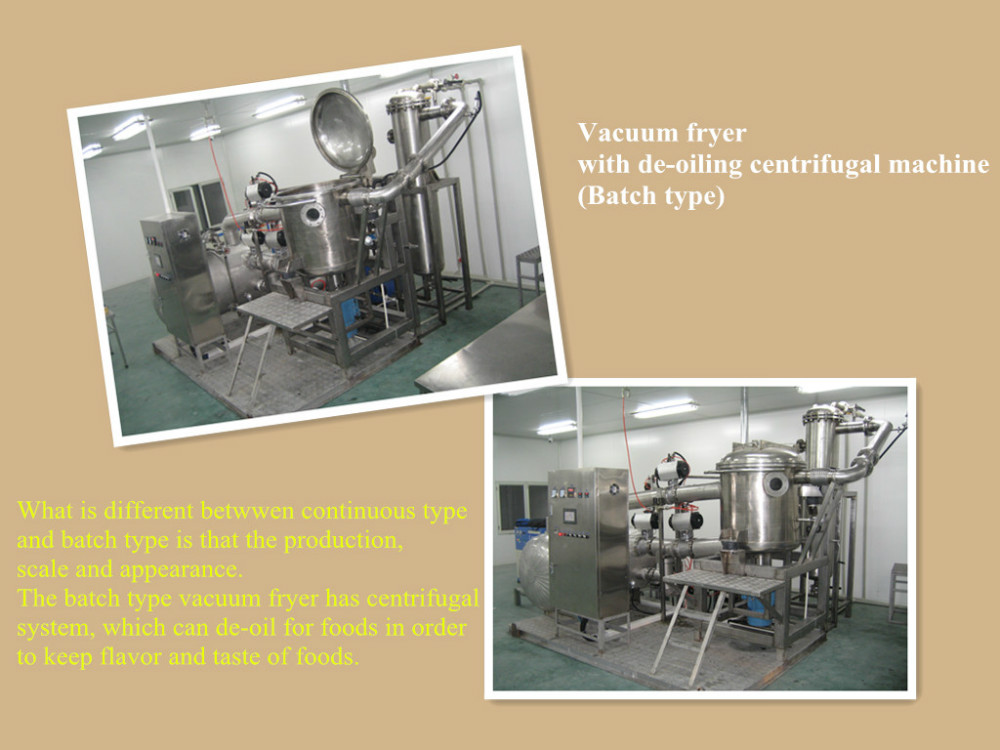 Popular vacuum fryer machine