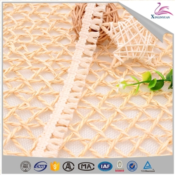 High quality cotton bullion paper fringe for shirt