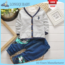 cotton jean cute children's wear boy kid clothes