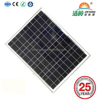 65w Poly small custom solar panel with ce/tuv/iso certificaton
