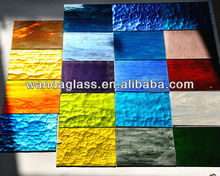 3/4/5mm colored refiective glass sheet