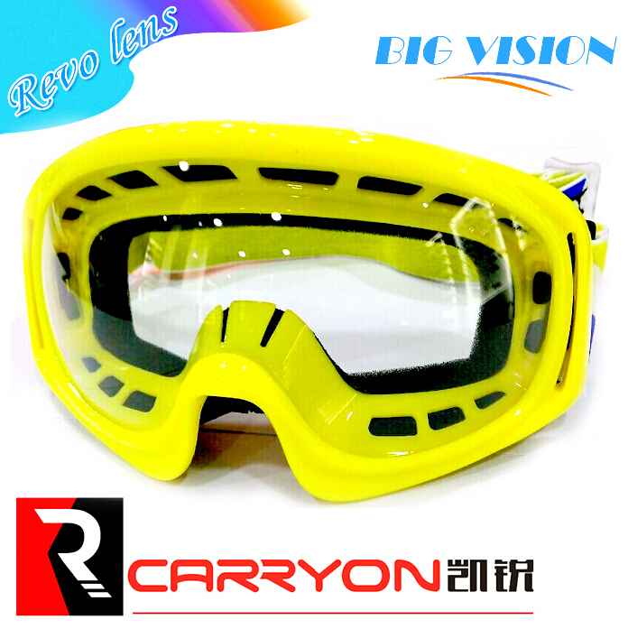 OEM safety motorcross goggle,optical lens, factory motorcycle goggle