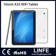 (Shipped by DHL) 10 inch A33 Quad Core 1GB RAM 8GB ROM 10 inch Dual Camera 1024*600 Capacitive Tablets