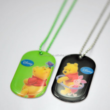 new products manufacturing OEM with epoxy metal dog tag for promotion