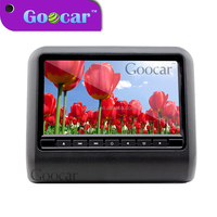 GC997DVD 2015 best selling IR FM transmitter USB SD Seat back Hanging 9 inch headrest dvd