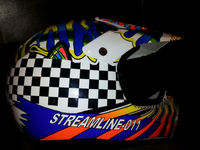 Motorcycle Helmet (For Racing, Model : MX)