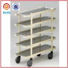 5 tier food trolley goods trolley storage trolleys retail and wholesale