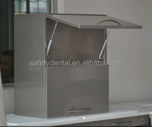 Best-Selling Stainless Steel Dental Series Hanging Wall Dental Cabinet with/without glass window