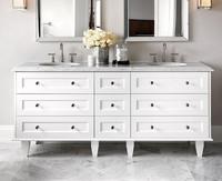 Cheap antique bathroom vanity/ corner bathroom sink cabinet