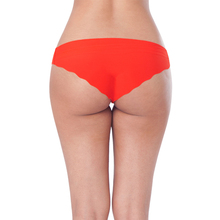 2017 hot sell girls sexy seamless g-string bikini red panty underwear