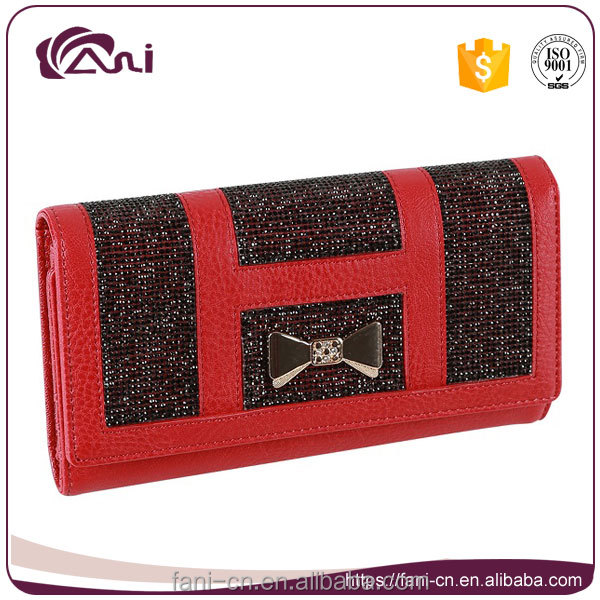 Fani women wallets and purses,dollar coin wallet leather 2017 new design