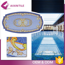 Mix Color Customized Non-Slip Deck Swimming Pool Tiles For Sale