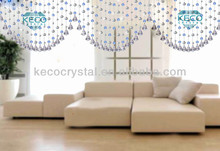 colorful crystal bead window curtains