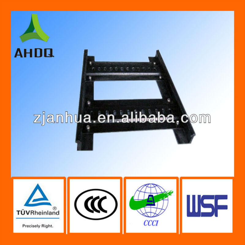 Colored ladder type GRP cable tray