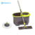 2018 Hot Selling Microfiber 360 Easy flat & round cleaning mop,assemble 360 flat and round spin magic mop