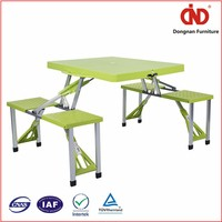 Durable Eco-Friendly Pvc Folding Table And Chair