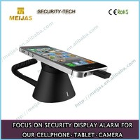 Safe display mobile security alarm phone stand
