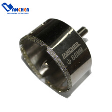 Lancher Electroplated For Making Holes In Glass Diamond Core Drill Bit