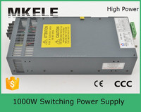 mingwei SCN-1000-48 1000w 48v dc switching power supply distributors made in china with pfc