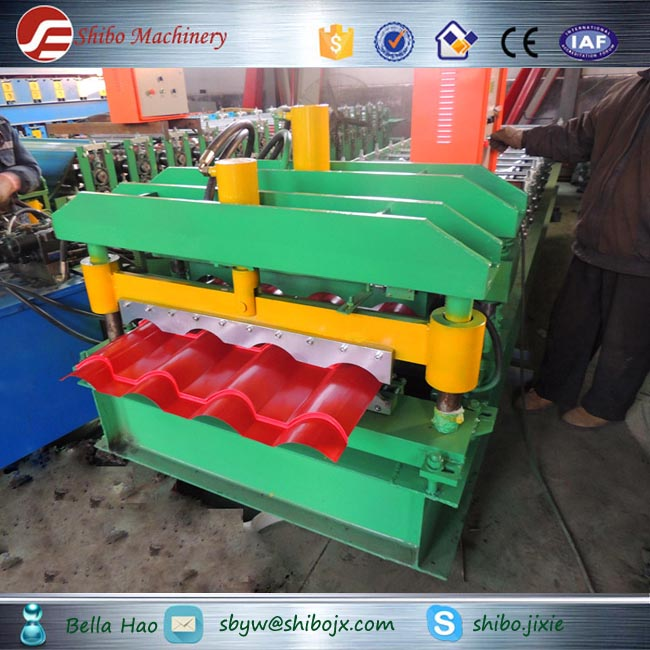 shibo machinery galvanized steel metal iron plate steel sheet hs code roll forming machine