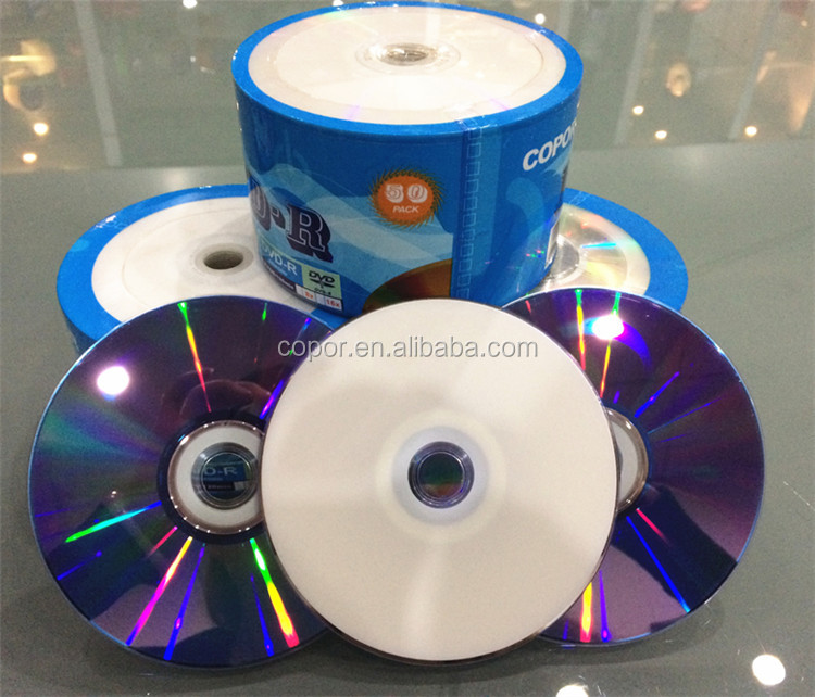 blank dvd in bulk 4.7gb printable dvd-r/+r media disc