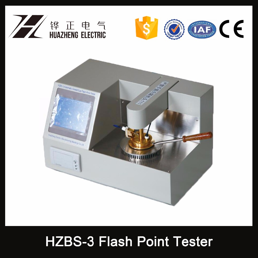 HZBS-3 high quality Closed Cup flash point tester with fast shipping