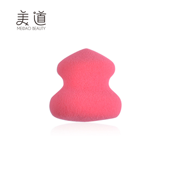 New Design Cosmetic Latex Free Pink Special Gourd Makeup In Sponge