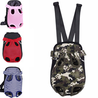 Travel Dog Cat Pet Bag for Travel Cycling with Adjustable Shoulder Strap and Inner Collar