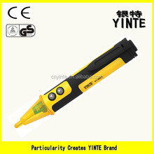 China factroy Non-contact detector neon voltage pen tester with sound and fire alert