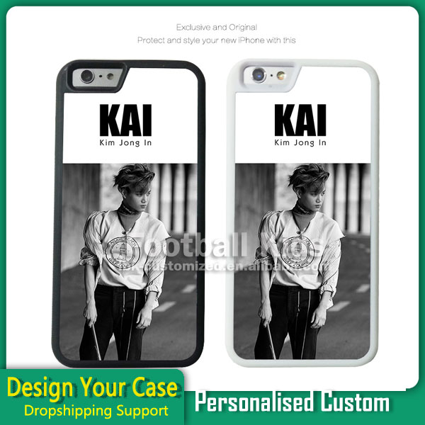 customized blank 2d/ Heat Transfer Sublimation Printing soft phone cover case for iphone 6s