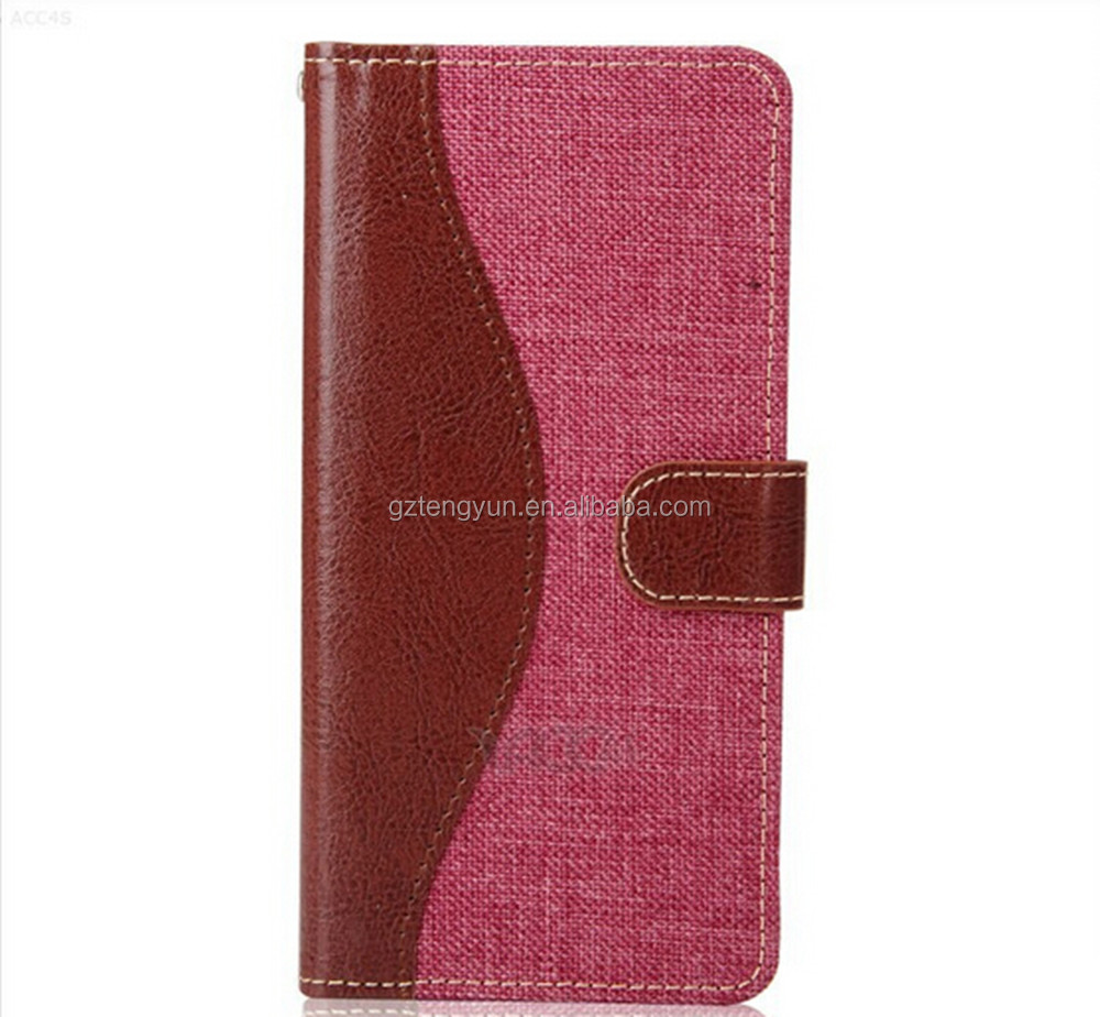Factory price flip leather cowboy case luxury case for samsung galaxy s5