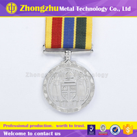 custom olympic gold medal with ribbon made in china