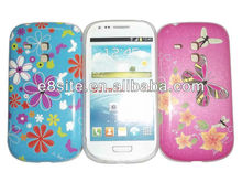 Flower IMD TPU Case For SamSung Galaxy S3 Mini i8190