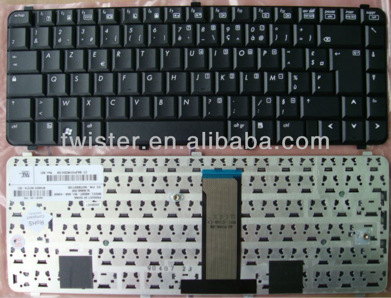 French layout for HP Compaq 6530S 6535S 6730S 6735S Clavier laptop keyboard