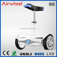 sit & stand with seat two wheel self balancing electric scooter Airwheel S6 with high battery capacity