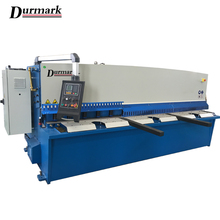 Shearing material QC12K 25*3200 Hydraulic CNC shearing machine types of shearing process