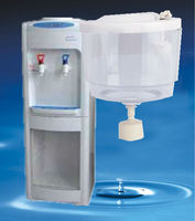 Water pot with pipe & floating ball used on water dispenser connect RO system to water dispenser