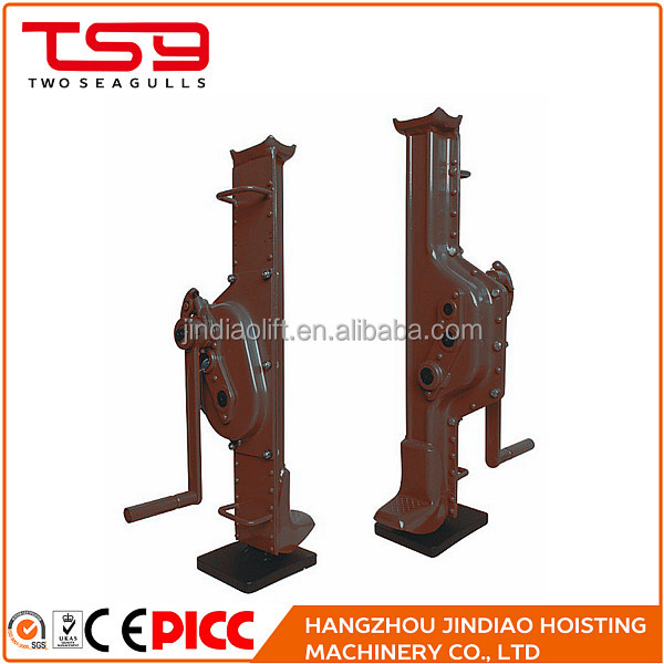 Railway height lifting advantage of simple design mechanical jack