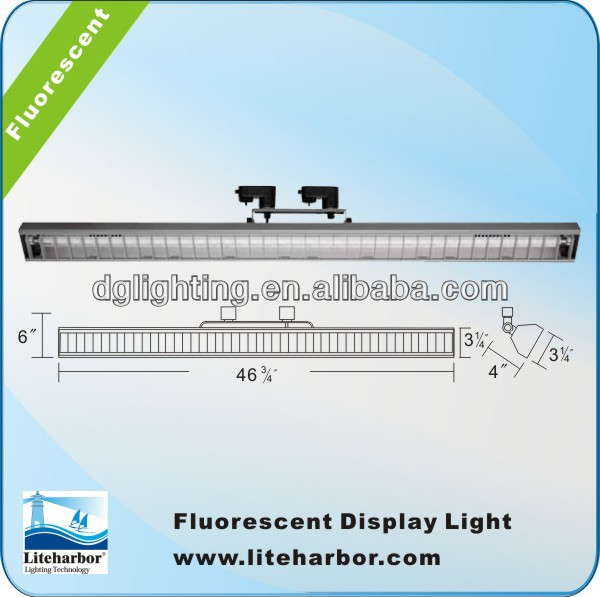 T5 flood wall wash fluorescent fixture