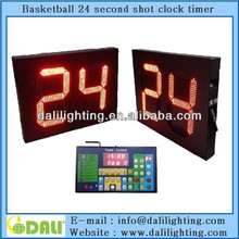 14 24 seconds wireless digital shot clock for basketball