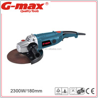 G-max 180mm Electric Angle Grinder Long Type Handles GT11086