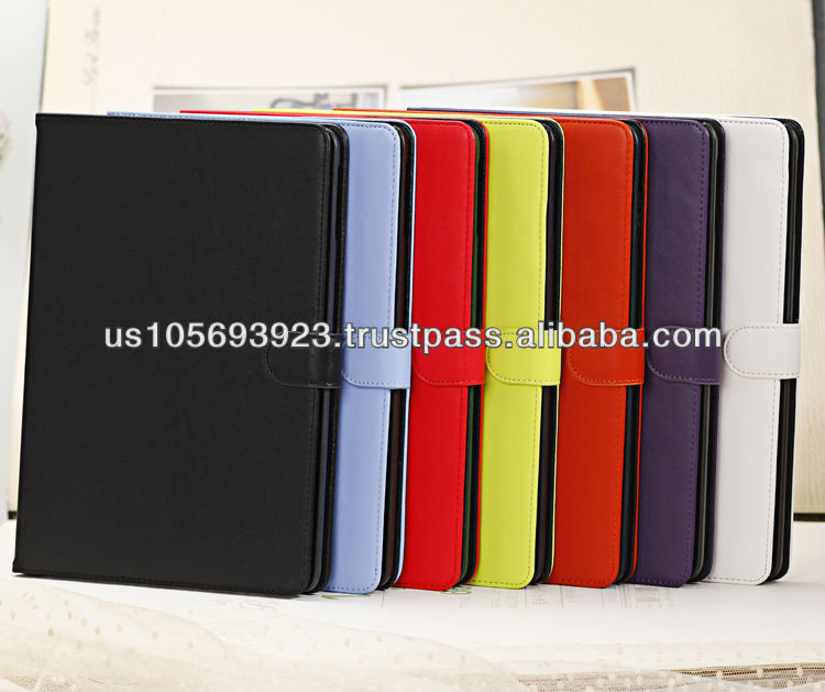 New Leather Case For Ipad Air( ipad 5) Samrt Stand 7 Color