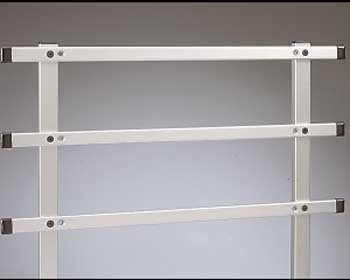 Base Rail System for Aluminum Unicarts