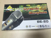 Professional dymanic singing wired microphone cheap price bus microphone