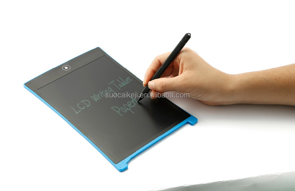 Portable one touch clear everything boogie lcd board with stylus